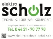 "Logo for ""Elektro Scholz"""