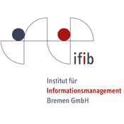 "Logo for ""ifib: Institut für Informationsmanagement Bremen GmbH"""