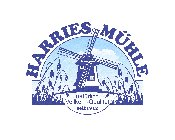"Logo for ""Harries Mühle"""